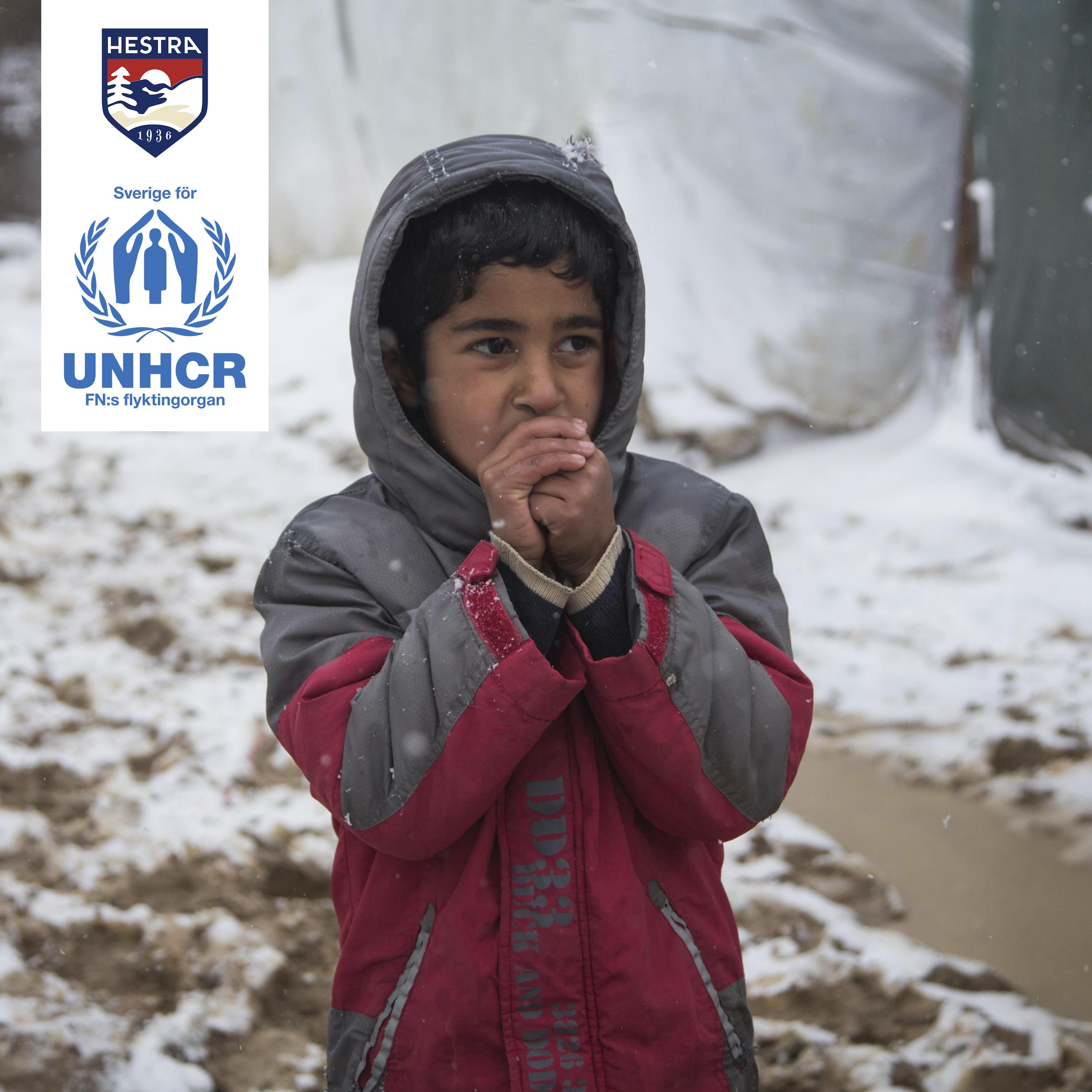 Hestra for UNHCR.